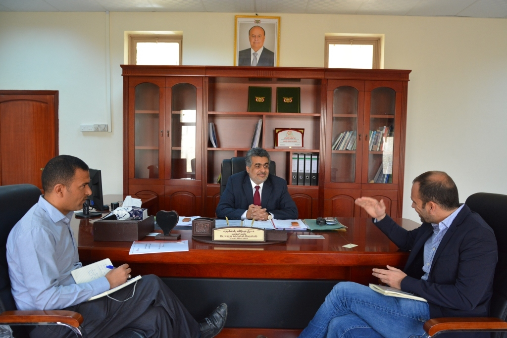 Vice Minister of Planning discusses with Spanish Doctors Without Borders its projects in Yemen